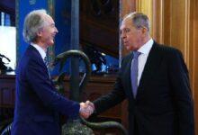 """صورة القيادة الروسية تتحدث عن تفاصيل المحادثات بين """"لافروف"""" و""""بيدرسون"""" بشأن الحل في سوريا!"""