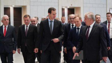 """صورة """"حمل رسالة هامة"""".. مبعوث بوتين الخاص إلى سوريا يلتقي بشار الأسد بدمشق!"""