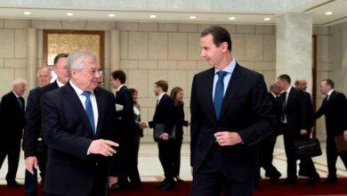"""صورة """"زيارة مفـ.ـاجئة"""".. مبعوث """"بوتين"""" الخاص يلتقي بشار الأسد بدمشق وينقل رسالة من القيادة الروسية!"""