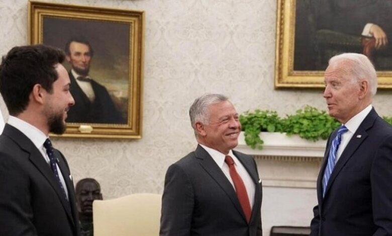 ملك الأردن الحل سوريا