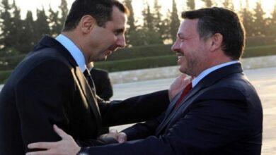 صورة بعد حديث ملك الأردن عن بقاء الأسد.. أول محادثات رسمية بين النظام السوري والحكومة الأردنية.. إليكم تفاصيلها