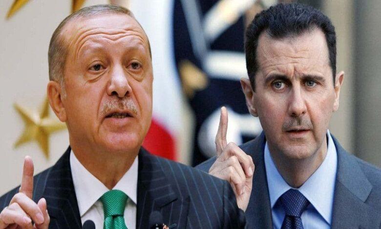 أردوغان بشار الأسد بغداد