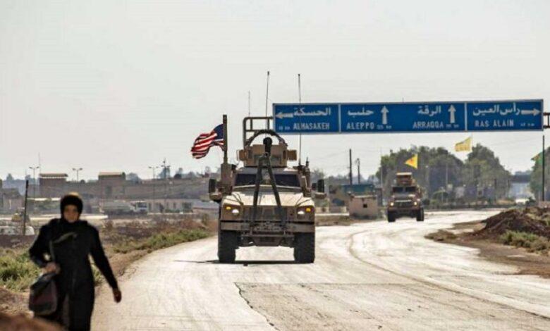 أمريكي شمال شرق سوريا
