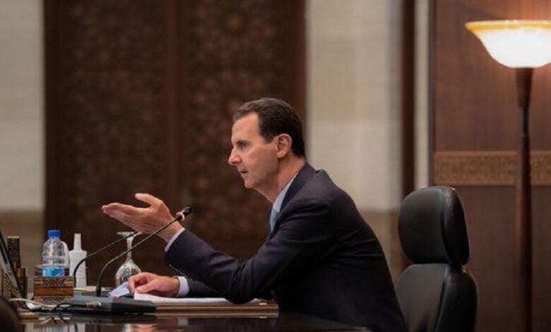 اجتماعات بشار الأسد القصر