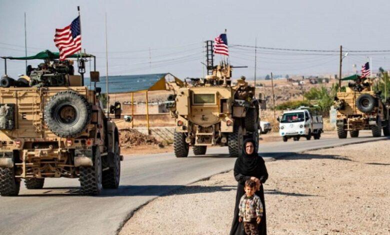 التواجد الأمريكي في سوريا