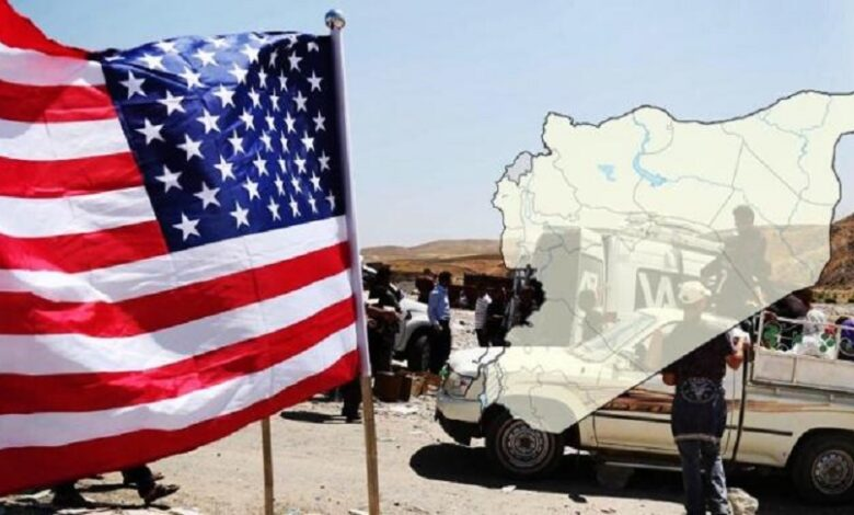 السياسة الأمريكية تجاه الملف السوري
