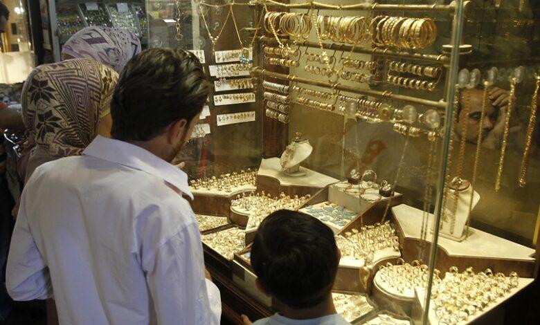 انخفاض غرام الذهب الأسواق السورية
