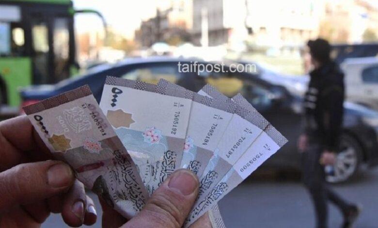 انخفاض قياسي تسجله الليرة السورية أمام الدولار