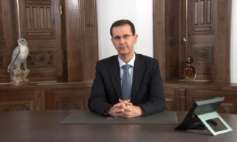 بشار الأسد حكومته الجديدة