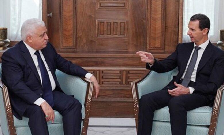بشار الأسد قمة بغداد