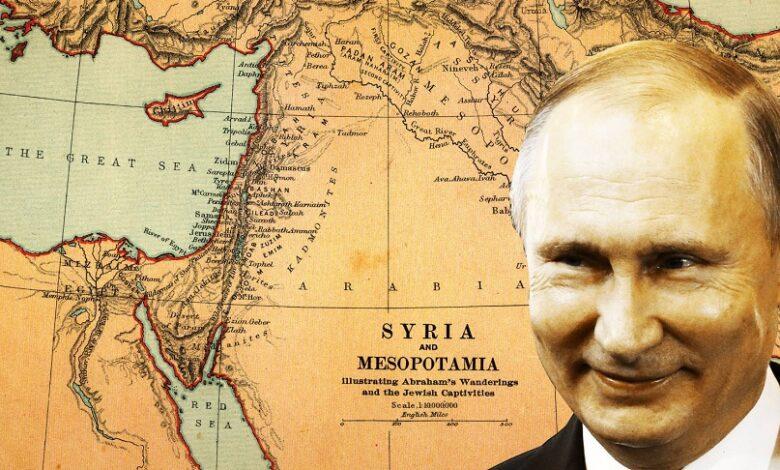 بوتين الحل في سوريا