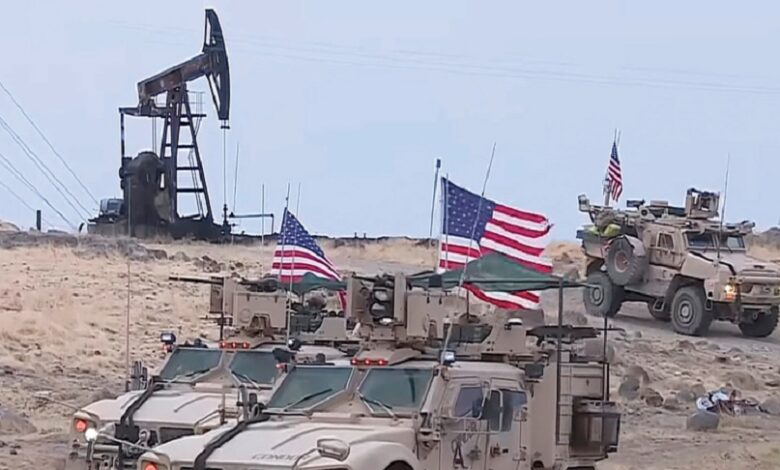 روسيا أمريكا النفط السوري