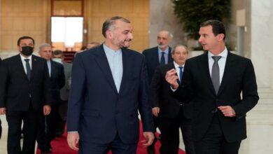 """صورة """"خارطة طريق ومرحلة جديدة"""".. زيارة وزير الخارجية الإيراني إلى دمشق تحمل رسائل هامة!"""