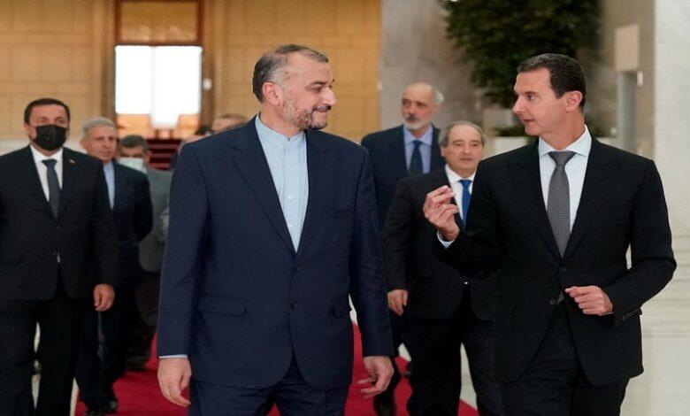 زيارة وزير الخارجية الإيراني إلى دمشق