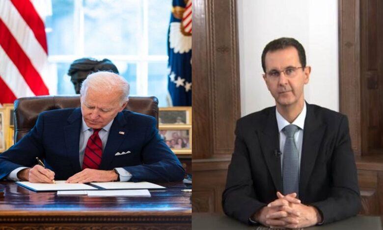 سياسة بايدن تجاه بشار الأسد