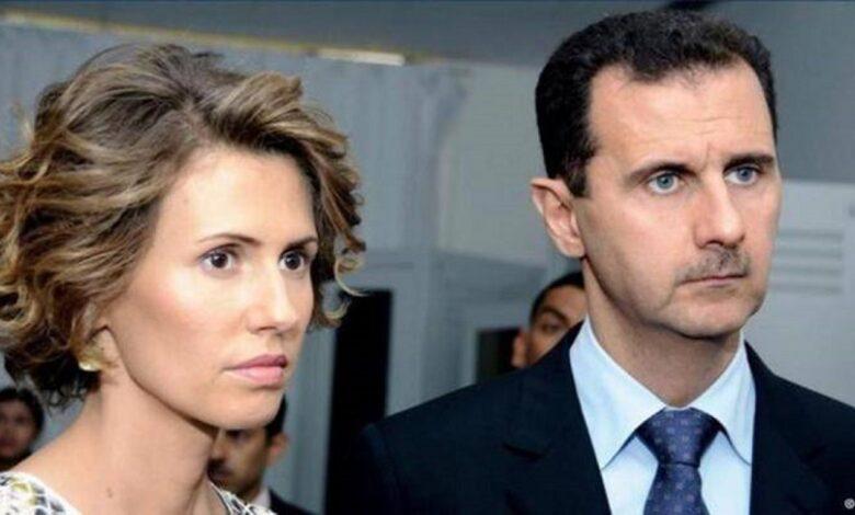 شخص مقرب أسماء الأسد