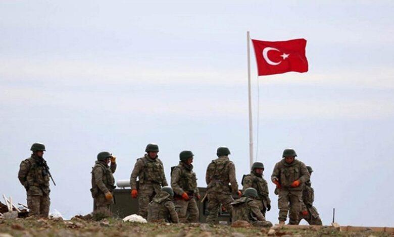 عملية تركية شمال سوريا