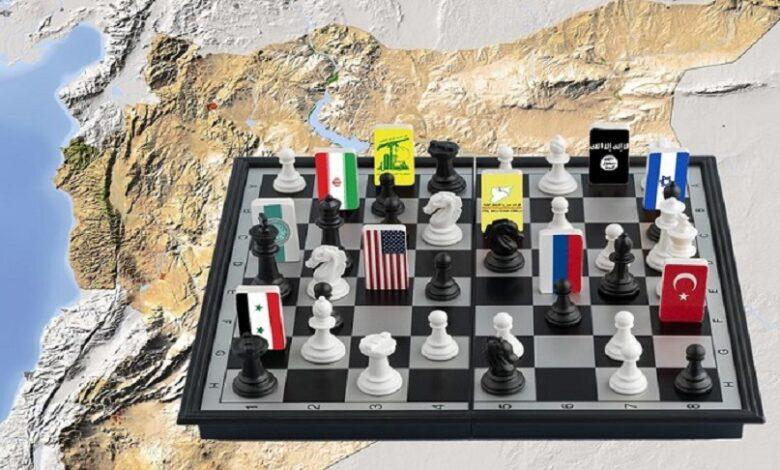 مساران للحل في سوريا