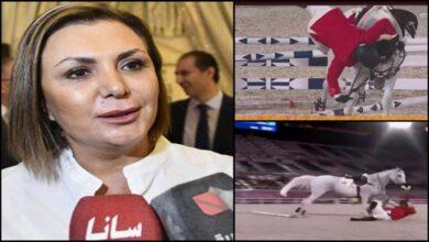 """صورة """"من الخيل وليس الخيّال"""".. منال الأسد تبرر تعثّر """"حمشو"""" في أولمبياد طوكيو!"""