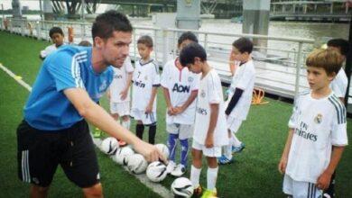 صورة مهدي النجار.. قصة أول طفل سوري يلعب في أكاديمية ريال مدريد (صور/ فيديو)