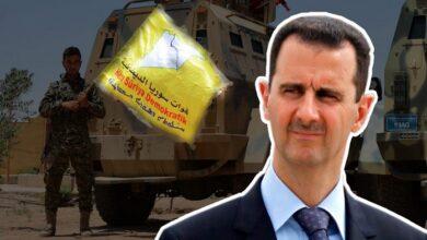 """صورة نظام الأسد ينتقد إدارة """"بايدن"""" ويُوجه رسالة تحذيرية لقوات سوريا الديمقراطية!"""