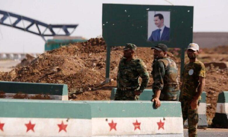 نظام الأسد درعا