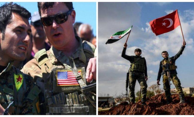 أمريكا تركيا شمال شرق سوريا