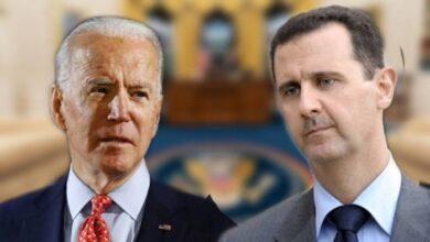 """صورة """"لقطع الطريق على إيران"""".. صحيفة بريطانية تتحدث عن تقارب وصفقة محتملة بين إدارة بايدن ونظام الأسد!"""