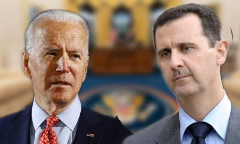 إدارة بايدن ونظام الأسد