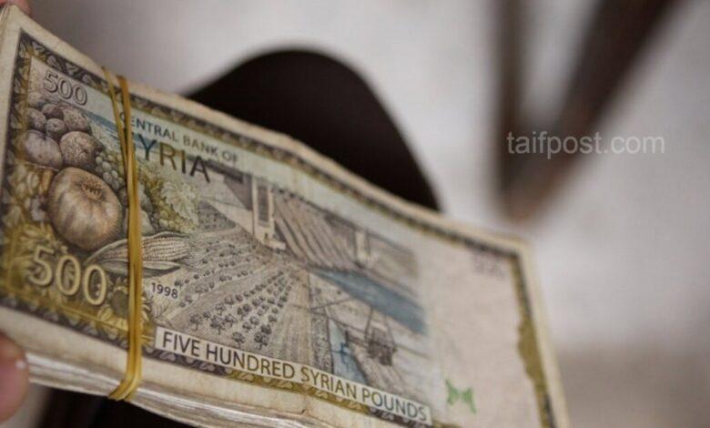 ارتفاع قياسي تسجله الليرة السورية أمام الدولار