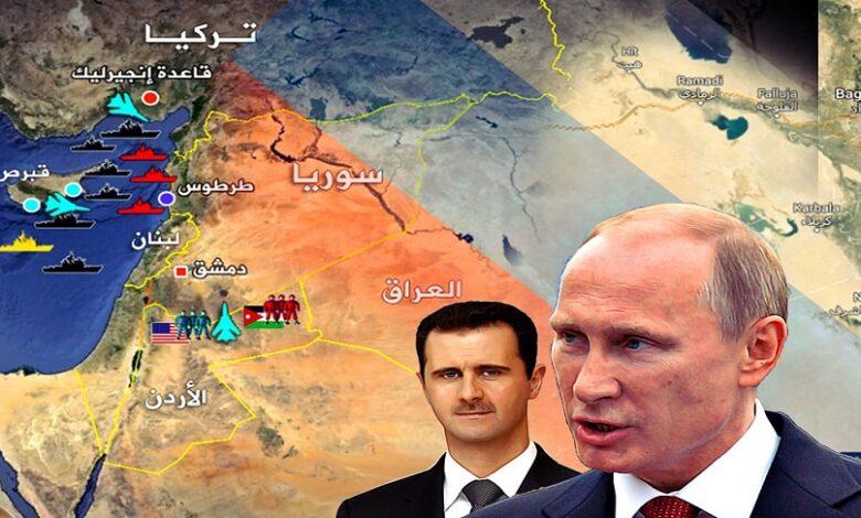 استراتيجية بوتين في سوريا