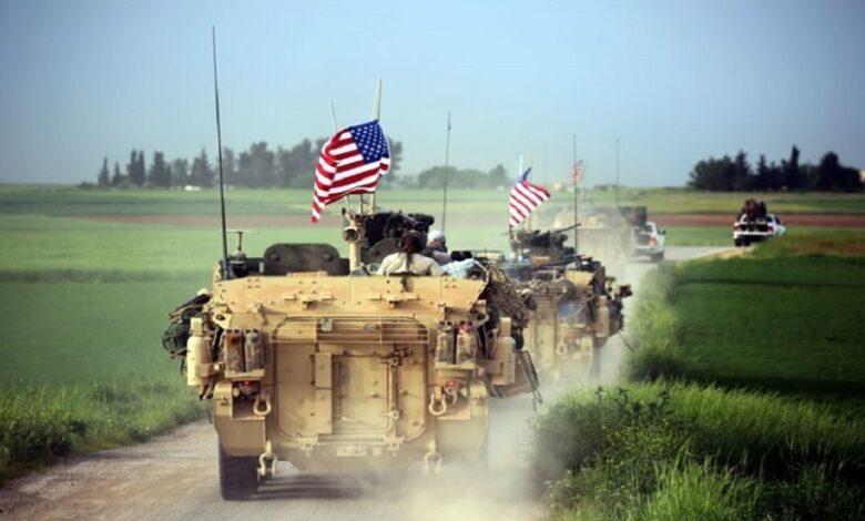 القوات الأمريكية من سوريا