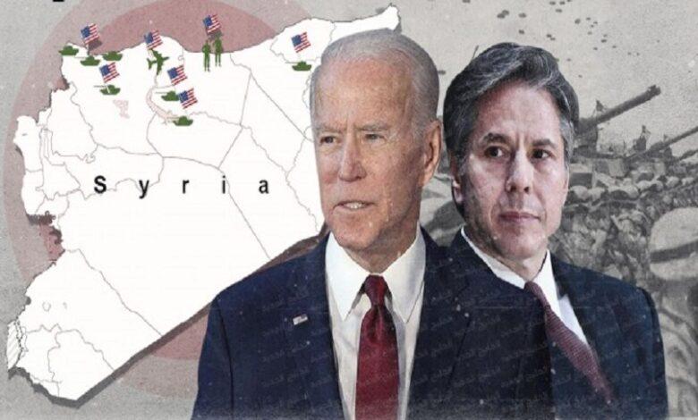 بايدن بشأن الملف السوري