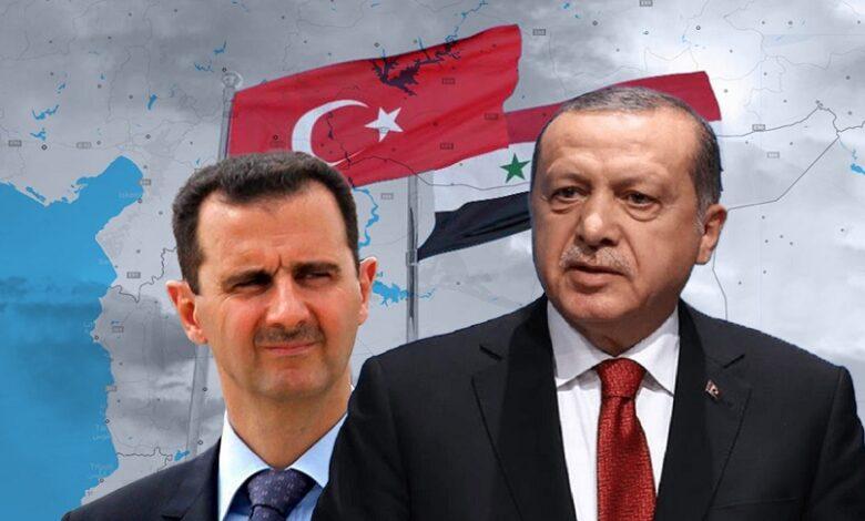 بشار الأسد وتركيا إدلب