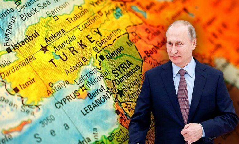 بوتين سوريا