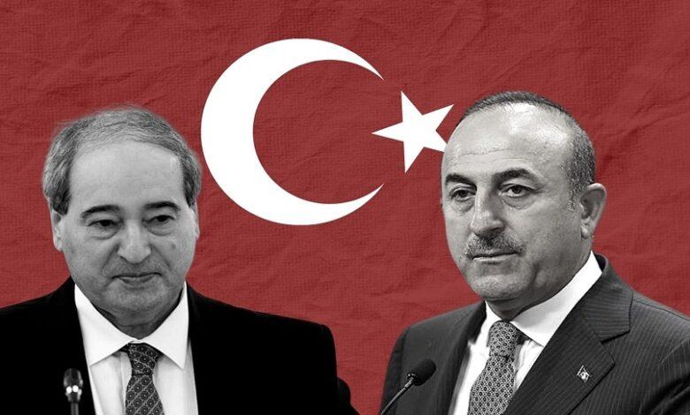 تواصل بين تركيا ونظام الأسد