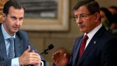 صورة لأول مرة.. مسؤول تركي بارز يكشـ.ـف تفاصيل جديدة ومثيرة حول اللقاء الأخير بين داود أوغلو وبشار الأسد!
