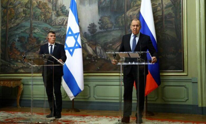 روسيا وإسرائيل بشأن سوريا