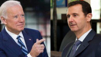 """صورة """"قبلة الحياة لنظام الأسد"""".. مصادر أمريكية تكشـ.ـف عن تنازلات ستقدمها إدارة """"بايدن"""" في سوريا"""