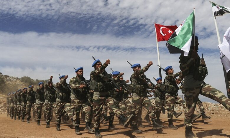 مناطق المعارضة الجيش التركي