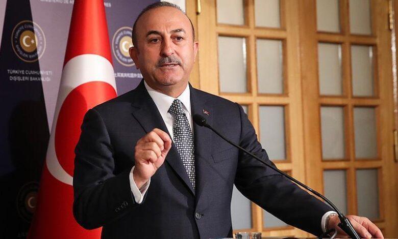 وزير الخارجية التركي اللاجئين