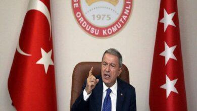 """صورة """"رد حاسم"""".. وزير الدفاع التركي يرد على الاتهامات التي وجهها """"لافروف"""" لتركيا بشأن إدلب!"""