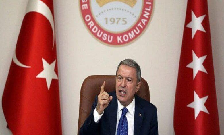 وزير الدفاع التركي إدلب
