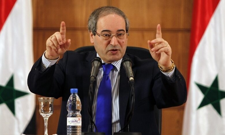 وزير خارجية نظام الأسد