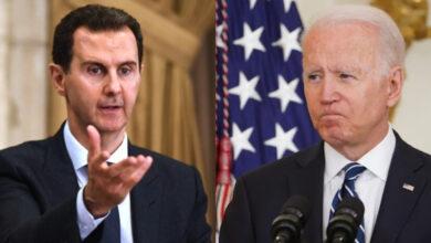 """صورة وسائل إعلام أمريكية تضغـ.ـط على إدارة """"بايدن"""" وتطالبها باتخاذ موقـ.ـف واضـ.ـح تجاه """"بشار الأسد"""" ونظامه!"""