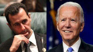 """صورة صحيفة أمريكية تفـ.ـجر مفـ.ـاجأة حول موقف """"بايدن"""" الضمني من بشار الأسد ونظامه!"""