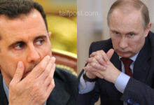 صورة بوتين يلوي بلطف ذراع بشار الأسد.. مركز دراسات مقرب من الاستخبارات الأمريكية يكشـ.ـف تفاصيل مثيرة!