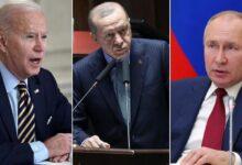 """صورة موقع أمريكي يتحدث عن رسائل قوية وحاسمة وجهها """"أردوغان"""" لكل من بوتين وبايدن بشأن سوريا"""
